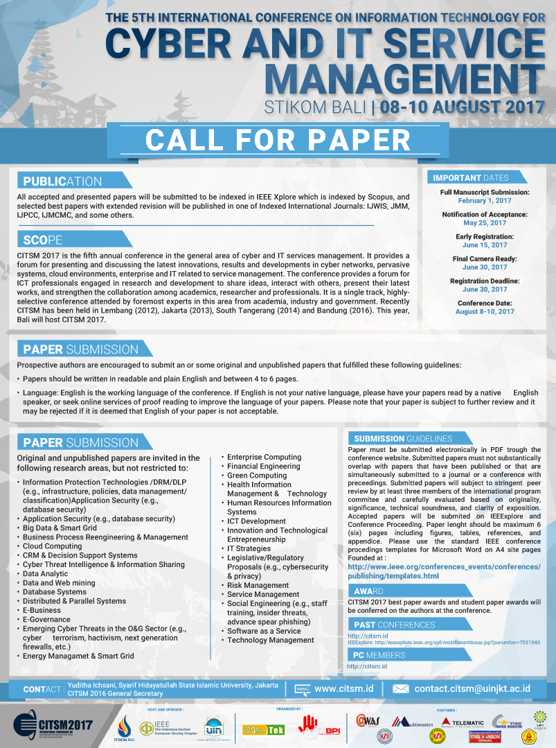 call for paper Call for papers icra is the ieee robotics and automation society's flagship conference and the premier international forum for robotics researchers to present and discuss their work the 2018 conference will be held from may 21 to may 25, 2018 at the brisbane convention & exhibition centre in brisbane, australia.